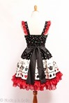 Alice in Wonderland JSK - Black Red-3