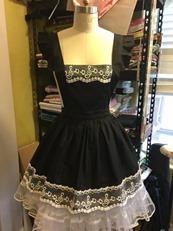 Alice Apron Black